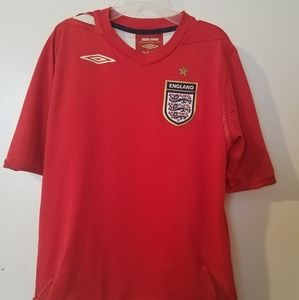 Other - AUTHENTIC RED AWAY ENGLAND #4 GERRARD JERSEY SHIRT